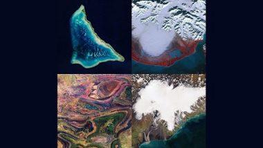 Viral: अंतरिक्ष से ली गई पृथ्वी की अद्भुत तस्वीरों ने लोगों को किया मंत्रमुग्ध, देखें वायरल Photos