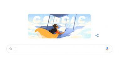 Sarla Thukral's 107th Birthday Google Doodle: सरला ठकराल की 107वीं जयंती पर गूगल ने खास डूडल बनाकर किया याद