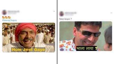 Viral Olympics Meme & Jokes: ओलंपिक में नीरज चोपड़ा की ऐतिहासिक गोल्ड मेडल जीत के बाद इंटरनेट पर मजेदार मीम्स और जोक्स वायरल, देखें लोटपोट कर देने वाले रिएक्शंस