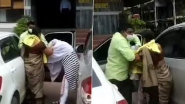Viral Video: गर्लफ्रेंड के साथ घूमते हुए रंगे हाथों पकड़ा गया पति, पत्नी ने सरेआम जमकर की कुटाई, देखें वायरल वीडियो