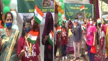 Independence Day 2021: दिल्ली के जी.बी रोड इलाके में सेक्स वर्कर्स ने मनाया 75वां स्वतंत्रता दिवस