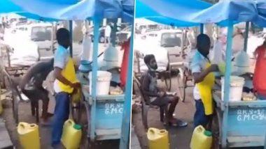 Viral Video: मग में पेशाब कर उसे गोलगप्पे के पानी में मिलाते हुए पकड़ा गया विक्रेता, कैमरे में कैद हुई पूरी घटना