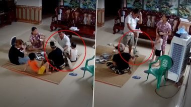 Viral Video: परिवार के 6 लोग नीचे बैठकर खा रहे थे रात का खाना, अचानक गिर गया सीलिंग फैन, उसके बाद जो हुआ...देखें वीडियो