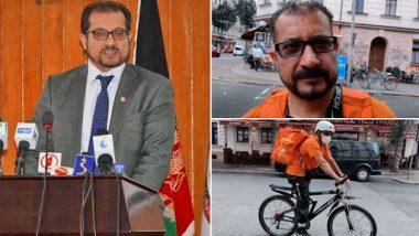 Viral: अफगानिस्तान के पूर्व मंत्री Syed Ahmed Shah Sadat जर्मनी में कर रहे पिज्जा डिलीवरी बॉय का जॉब, तस्वीरें हुईं वायरल