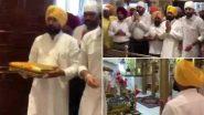 Charanjit Singh Channi: पंजाब के नए मुख्यमंत्री चरणजीत सिंह चन्नी ने रूपनगर के गुरुद्वारा श्री कटलगढ़ साहिब में अरदास की