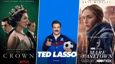 Emmy Awards 2021: 'द क्राउन', 'टेड लासो', 'मेयरऑफ ईस्टटाउन' ने कई अवार्डस किए अपने नाम