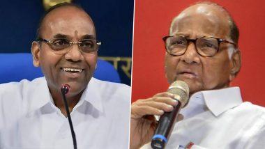 शिवसेना नेता अनंत गीते के बयान से MVA में भूचाल, कहा- शरद पवार शिवसैनिकों के 'गुरु' नहीं हो सकते, उन्होंने कांग्रेस की पीठ में छुरा घोंपा था