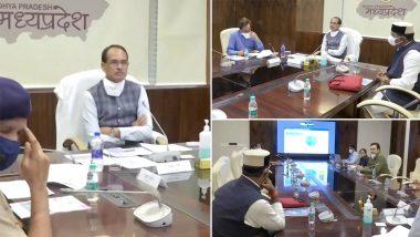 Madhya Pradesh COVID-19: सीएम शिवराज सिंह चौहान ने कोरोना की स्थिति पर चिकित्सा शिक्षा मंत्री विश्वास सारंग और वरिष्ठ अधिकारियों के साथ समीक्षा बैठक की