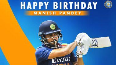 Happy Birthday Manish Pandey: 32 साल के हुए मनीष पांडे, यहां पढ़ें कैसा रहा है उनका अबतक का इंटरनेशनल क्रिकेट करियर