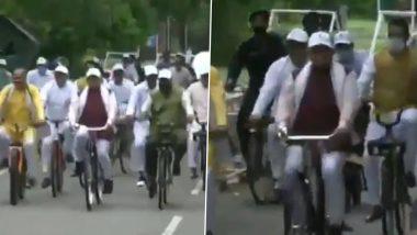 World Car Free Day 2021: साइकिल चलाकर सचिवालय पहुंचे हरियाणा के CM मनोहर लाल खट्टर- Video