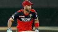 IPL 2021, RCB vs MI: ग्लेन मैक्सवेल ने जड़ा आईपीएल करियर का नौवां अर्धशतक