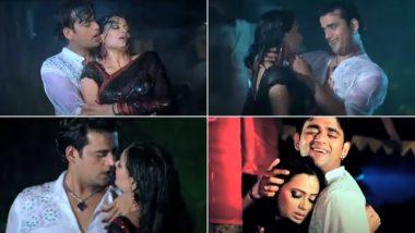 Bhojpuri Song: बारिश में भीगते हुए Shweta Tiwari ने रवि किशन के साथ दिए हैं जमकर रोमांटिक सीन्स, Video देखकर उड़ जाएगा होश