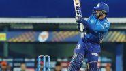 IPL 2021 MI vs KKR: क्विंटन डी कॉक का शानदार अर्धशतक, मुंबई ने कोलकाता को जीत के लिए दिया 156 रन का लक्ष्य