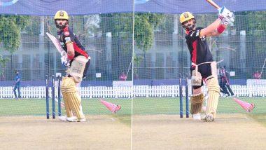 IPL 2021, RR vs RCB: राजस्थान की आज खैर नहीं, मुकाबले से पूर्व छक्के लगाने की प्रैक्टिस करते नजर आए Virat Kohli, देखें वीडियो