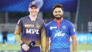 IPL 2021, KKR vs DC: केकेआर को लगा दूसरा झटका, राहुल त्रिपाठी 9 रन बनाकर हुए आउट