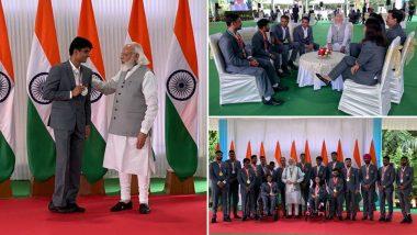 टोक्यो पैरालंपिक से लौटे भारतीय दल से मिले प्रधानमंत्री मोदी, इस बार भारत ने जीते हैं 5 गोल्ड समेत 19 मेडल
