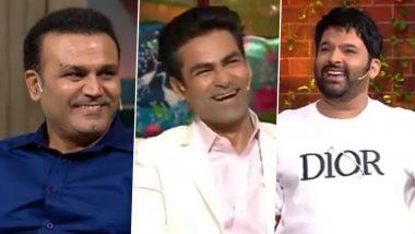 The Kapil Sharma Show में पहुंचे वीरेंद्र सहवाग और मोहम्मद कैफ, हो गई कपिल की बोलती बंद