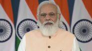 PM Modi US Visit: सफर के दौरान भी काम करते नजर आए पीएम Narendra Modi, देखें तस्वीर