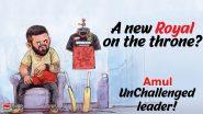 Amul Topical: अमूल ने बनाया कार्टून, लिखा- नए कैप्टन की तलाश में आरसीबी