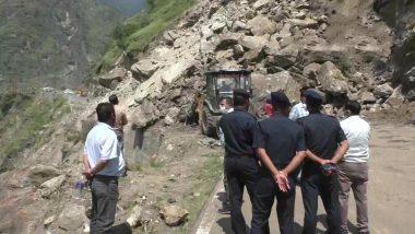 Himachal Pradesh: शिमला में ज्योरी के पास लैंडस्लाइड, राष्ट्रीय राजमार्ग-5 हुआ ब्लॉक