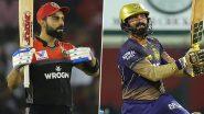IPL 2021 RCB vs KKR: इन खिलाड़ियों पर होगी सबकी नजर, आज के मैच में बन सकते हैं ये बड़े रिकॉर्ड