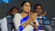 हैदराबाद पुलिस ने Y.S. Sharmila को मार्च करने से रोका