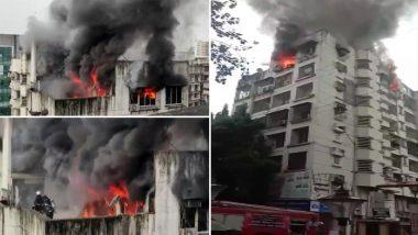 Fire in Mumbai: मुंबई के बोरीवली में बिल्डिंग में लगी भीषण आग, एक दमकल कर्मी घायल- VIDEO