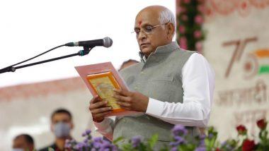 Gujarat: गुजरात के नए मंत्री भूपेंद्र पटेल बृहस्पतिवार को लेंगे शपथ