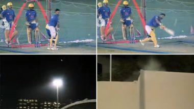 IPL 2021: आईपीएल के दूसरे चरण से पहले सुरेश रैना ने नेट्स पर जमकर बहाया पसीना, लगाए लंबे छक्के