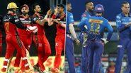 IPL 2021, RCB vs MI: आरसीबी और मुंबई इंडियंस के बीच होगा हाईवोल्टेज मुकाबला, आज के मैच में बन सकते हैं ये बड़े रिकॉर्ड