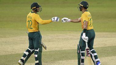 SL vs SA 2nd T20I Match 2021: दक्षिण अफ्रीका ने श्रीलंका को दूसरे T20 मुकाबले में नौ विकेट से हराया, सीरीज पर जमाया कब्जा
