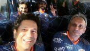 IPL 2021: टीम के साथ नजर आए मुंबई इंडियंस के मेंटर Sachin Tendulkar, देखें तस्वीर