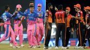 IPL 2021, SRH vs RR: सनराइजर्स हैदराबाद और राजस्थान रॉयल्स के बीच आज होगा महामुकाबला, इन धुरंधरों पर होगी सबकी निगाहें