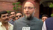 AIMIM प्रमुख असदुद्दीन ओवैसी का बड़ा हमला, दिल्ली आवास पर तोड़फोड़ के लिए BJP को ठहराया जिम्मेदार
