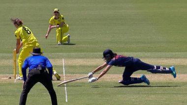 Ind-W vs Aus-W 2021: भारतीय टीम ने बनाए 225 रन, अब गेंदबाजों को करना होगा कमाल