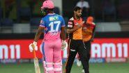 IPL 2021, SRH vs RR: हैदराबाद ने राजस्थान को सात विकेट से हराया, आज के मैच में बने रिकॉर्ड पर एक नजर