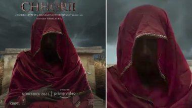 Nusrat Bharucha ने अपनी हॉरर फिल्म 'छोरी' का मोशन पोस्टर किया शेयर
