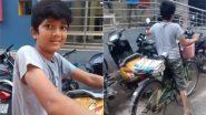 पढ़ाई का खर्च उठाने के लिए अखबार बेचता है यह छोटा लड़का, बोला- सपना पूरा करने के लिए काम करने में क्या बुराई (Watch Viral Video)
