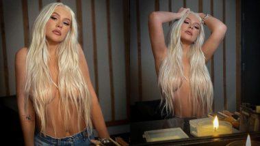अमेरिकन सिंगर Christina Aguilera ने कैमरे के सामने टॉपलेस होकर दिया हॉट पोज, बॉलीवुड सेलेब्स भी करते हैं इन्हें फॉलो