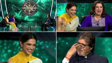 KBC 13 के मंच पर Amitabh Bachchan ने खोली रणवीर सिंह और दीपिका पादुकोण की पोल, बताया- अवॉर्ड सेरेमनी का रोमांटिक किस्सा