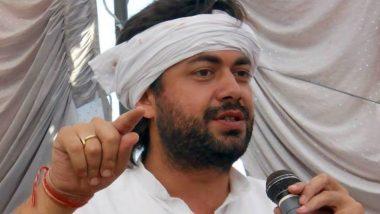 Uttar Pradesh में कांग्रेस के वरिष्ठ नेता Lalitesh Pati Tripathi ने दिया इस्तीफा