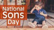 Happy Son's Day 2021: नेशनल सन्स डे पर ये WhatsApp Wishes और Quotes भेजकर दें शुभकामनाएं