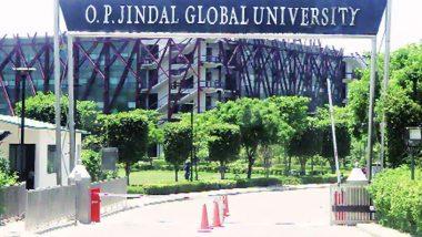OP Jindal Global University दुनिया के शीर्ष 500 विश्वविद्यालयों में शामिल