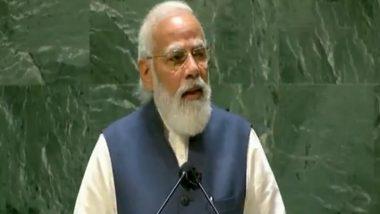 पीएम मोदी ने UN महासभा में अपने संबोधन में बताया, लोकतंत्र ने कैसे एक चाय वाले को बनाया प्रधानमंत्री