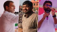 राहुल गांधी की नई टीम, कन्हैया कुमार और जिग्नेश मेवानी 28 सितंबर को कांग्रेस में होंगे शामिल