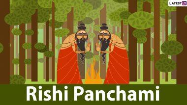Rishi Panchami 2021: गणेश चतुर्थी के अगले दिन मनाया जाता है ऋषि पंचमी, जानें शुभ मुहूर्त, पूजा विधि और महत्व