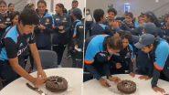 Happy Birthday Richa Ghosh: भारतीय महिला क्रिकेट टीम ने मनाया इस दिग्गज खिलाड़ी का जन्मदिन, कुछ कैसे किया सेलिब्रेट (देखें वीडियो)