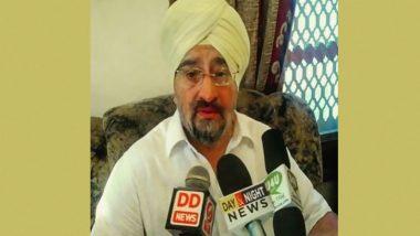 जम्मू-कश्मीर विधान परिषद के पूर्व सदस्य त्रिलोचन सिंह वजीर हत्याकांड में एक व्यक्ति गिरफ्तार