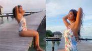 बालिका वधू फेम Avika Gor ने मालदीव वेकेशन से शेयर की हॉट फोटो, वाईट स्विमसूट में आई नजर