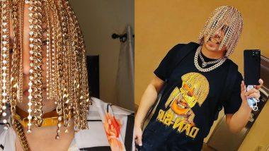 रैपर Dan Sur का गजब कारनामा, ऑपरेशन करके बालों की जगह लगवा लिए Gold Chains